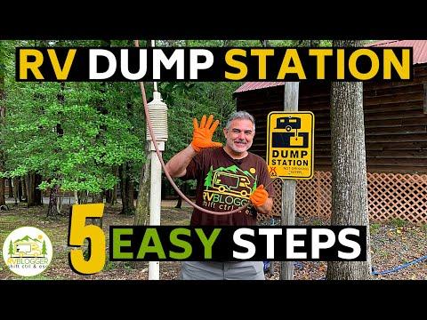 Dump Station for RV - 5 RV Dumping Station Tips for Beginners