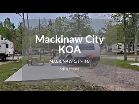 Camping at Mackinaw City KOA | Mackinaw City, Michigan