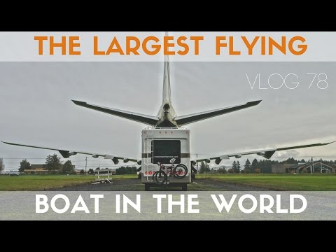 Spruce Goose - Big Floating Plane at the Evergreen Air and Space - Travel Vlog 78