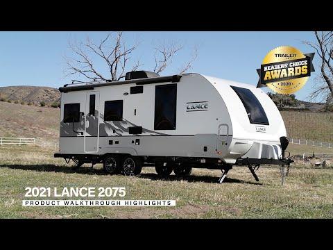 Lance 2075 Travel Trailer | Floor Plan Walkthrough & Feature Highlights