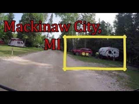 Tee Pee Campground, Mackinaw City, MI