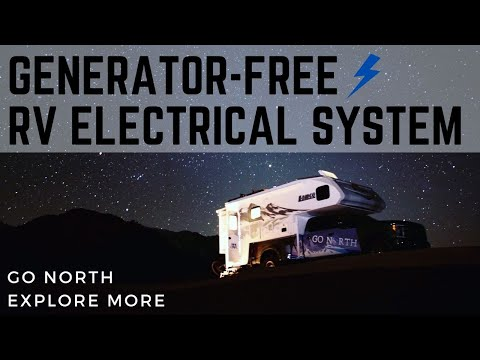 No Generator RV Alternator Charging Electrical System Overview & Performance | Go North Explore More
