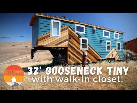 Best Gooseneck Tiny House Ever?! Woman Designs Dream Home