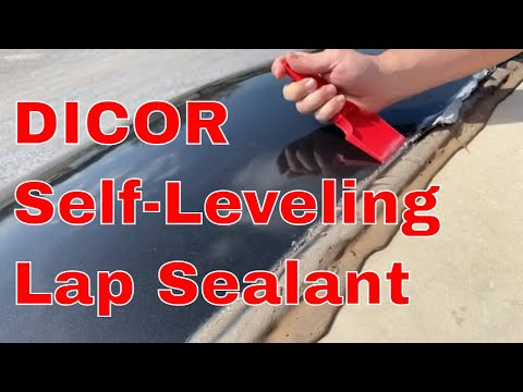 RV Roof Maintenance [HOW TO]: Dicor Self-Leveling Lap Sealant (Lap Seal)