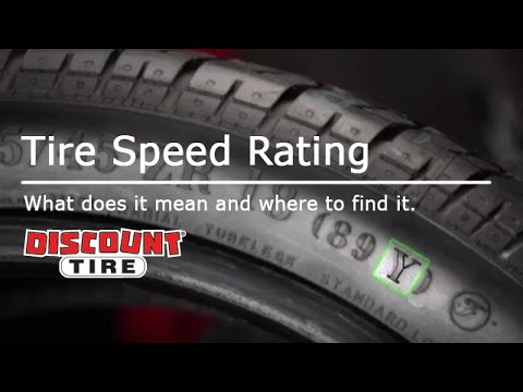 What Does the Speed Rating Mean on Tires? | Discount Tire