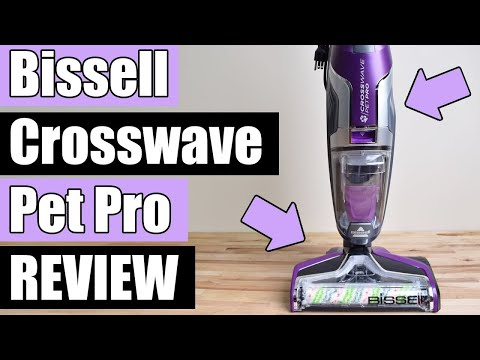 Bissell Crosswave Pet Pro IN DEPTH REVIEW & TESTS 2306a