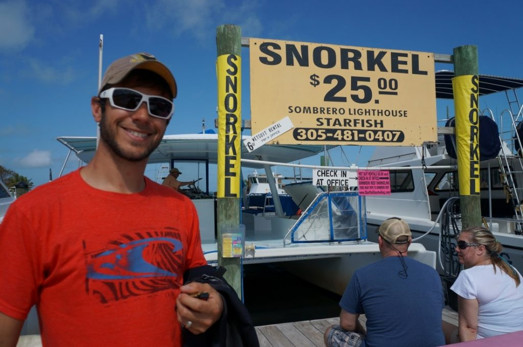 snorkeling in the florida  keys