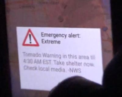 tornado in rv