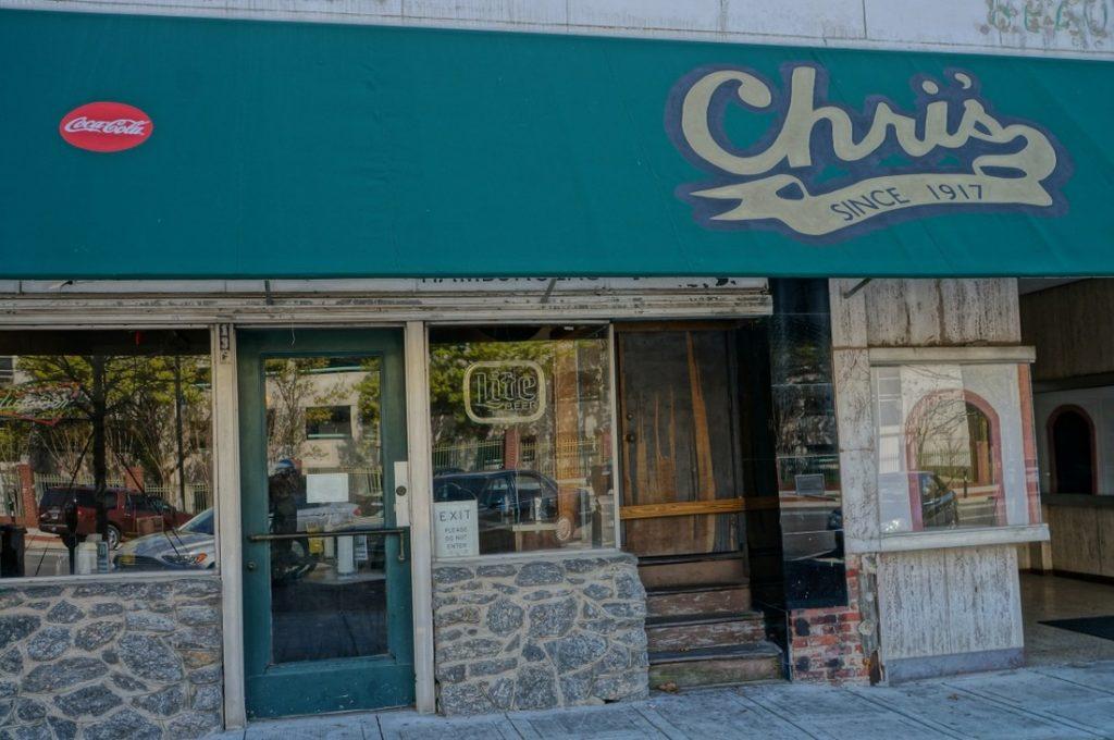 chris's hotdogs since 1917