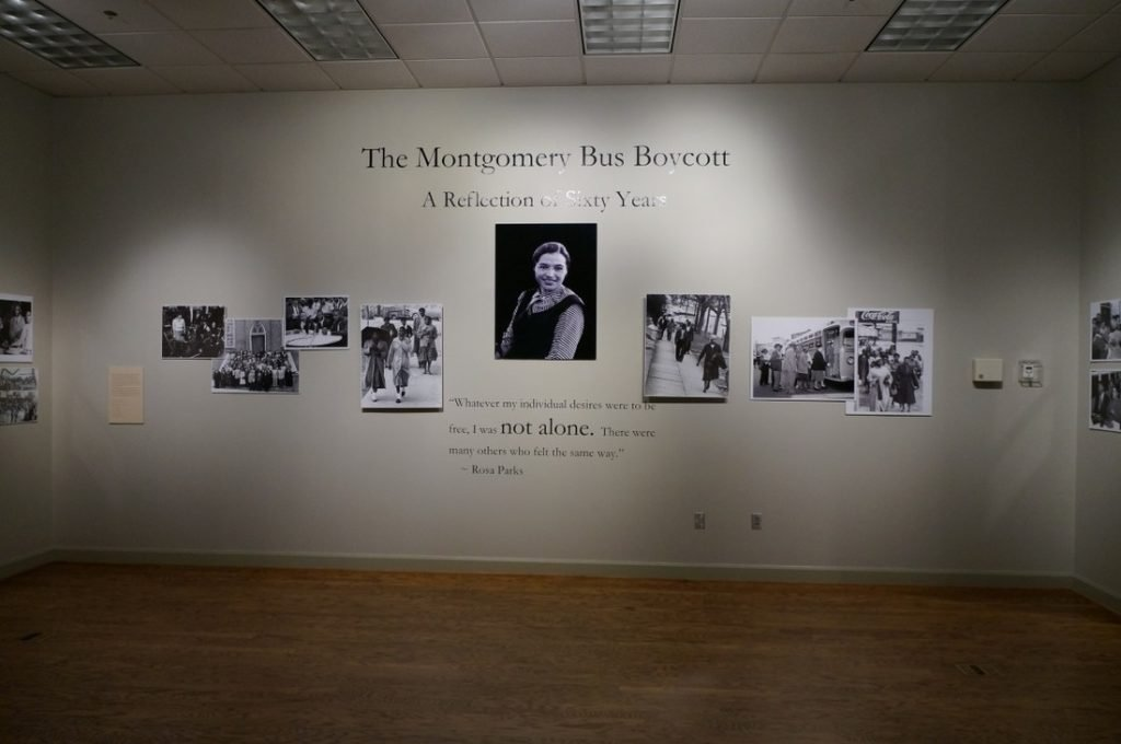 rosa parks museum and exhibit
