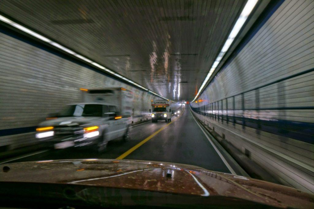 Tunnel under ocean