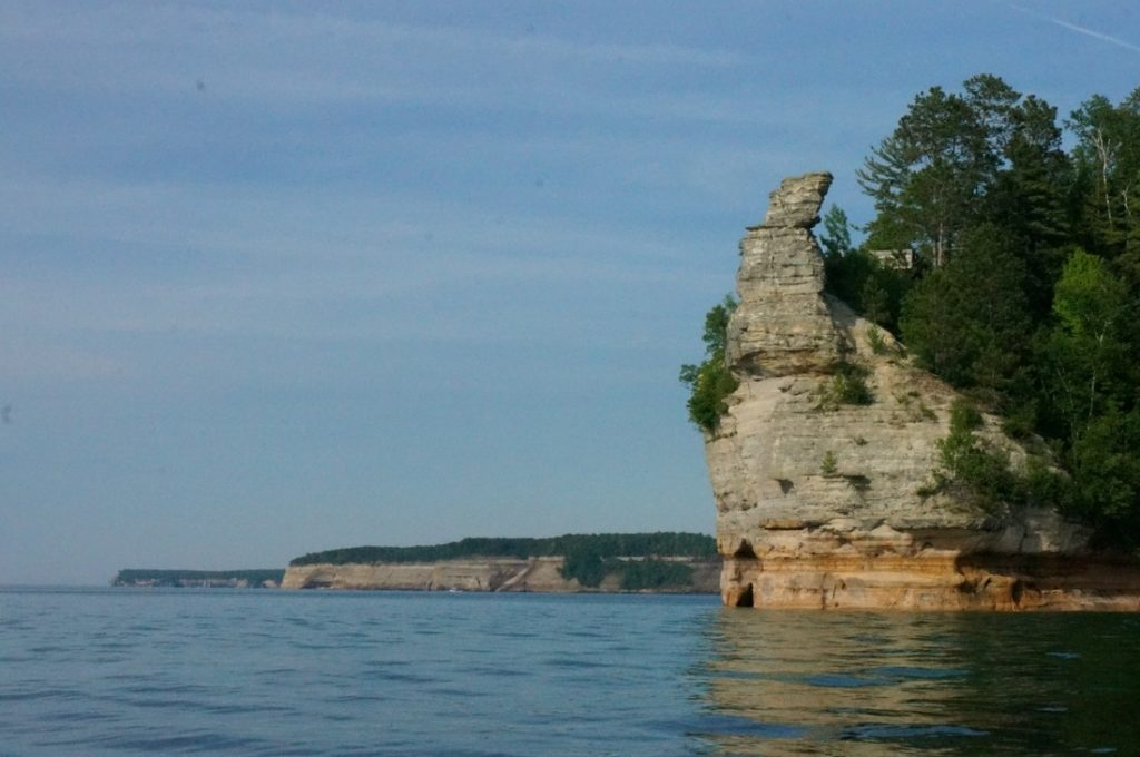 miners castle pictured rocks michigan