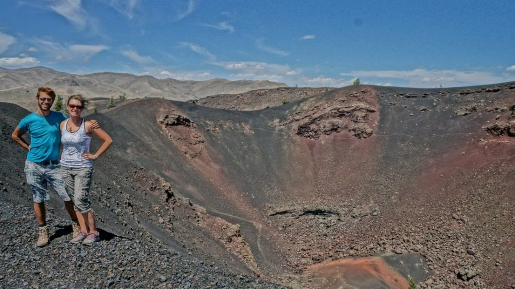ancient volcanoes, craters of the moon