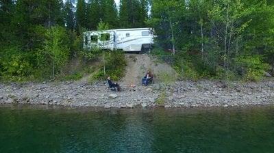 boondocking near glacier national park