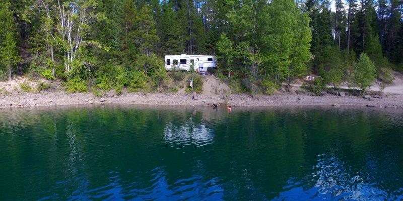 camping near glacier national park