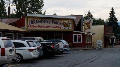 huckleberry patch glacier national park