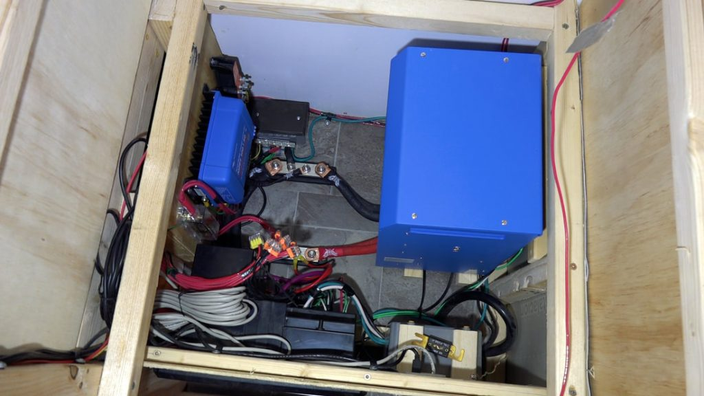 main electrical compartment