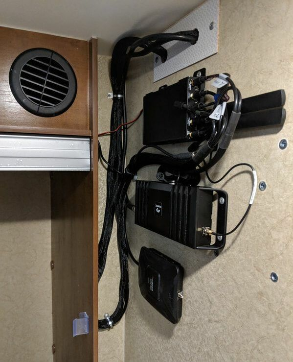 pepwave router in camper