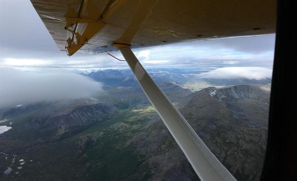 float plane flight to katmai national park