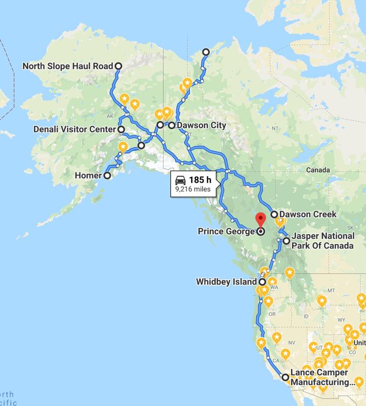 alaska route map
