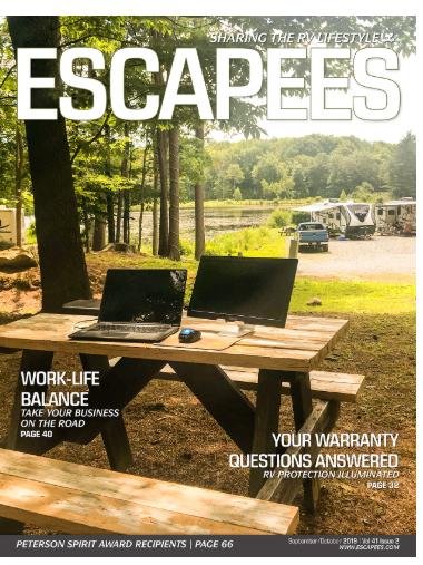 escapees magazine cover