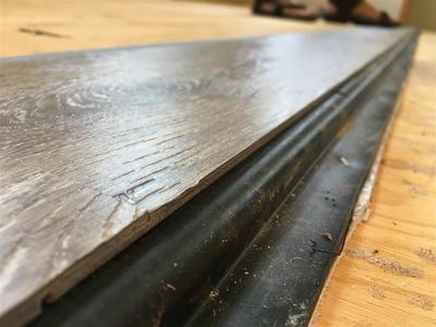 vinyl plank rv flooring on slideout