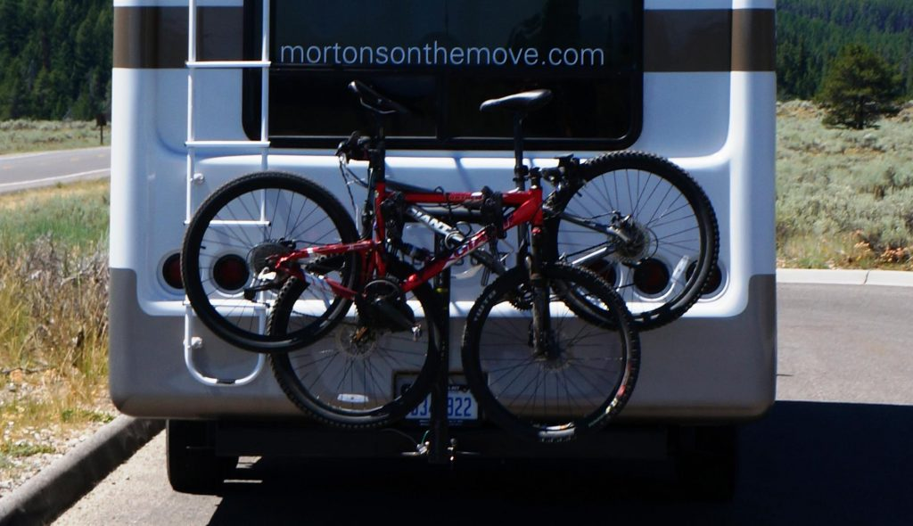 bikes on back of RV