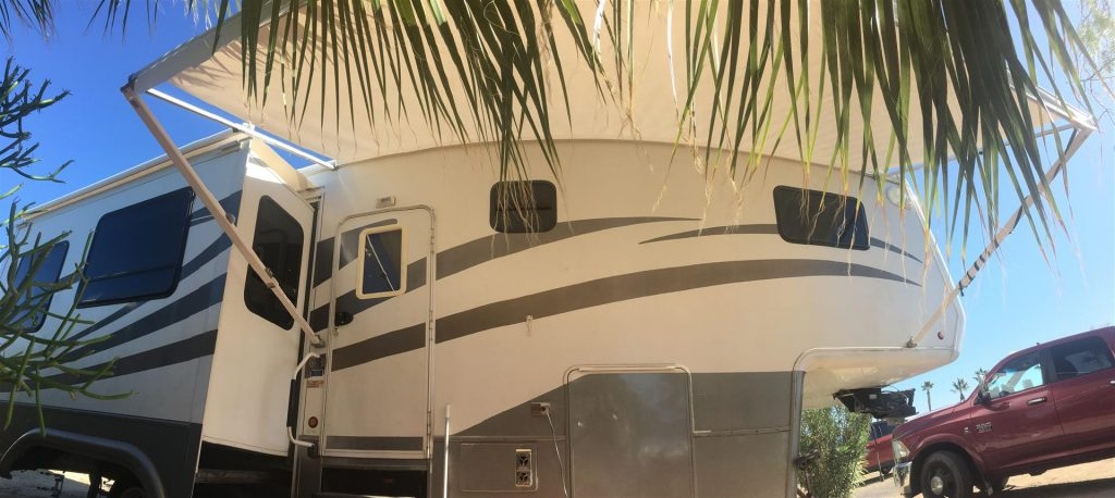 new rv awning replacement fabric