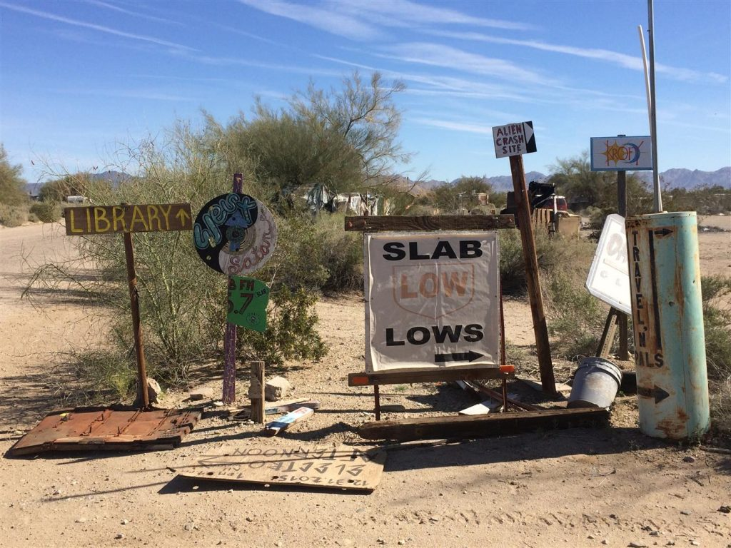 scariest boondocking in slab city