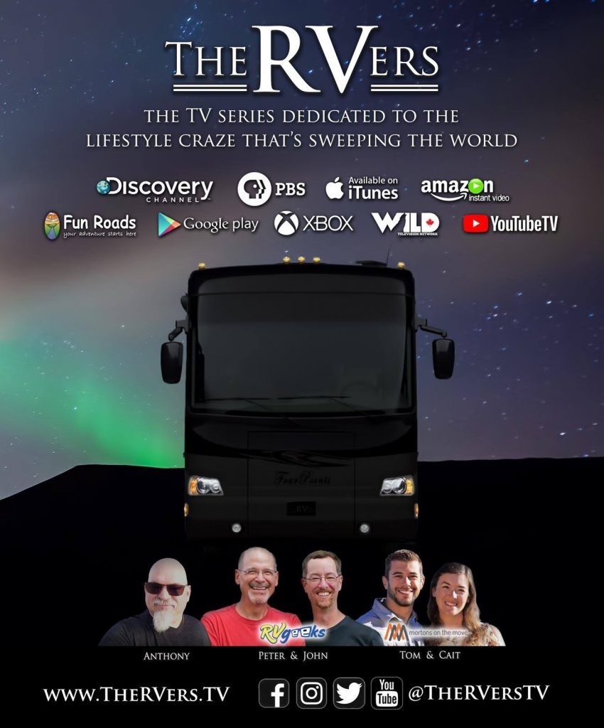 the rvers tv poster