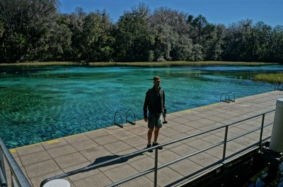 swimming in rainbow springs state park