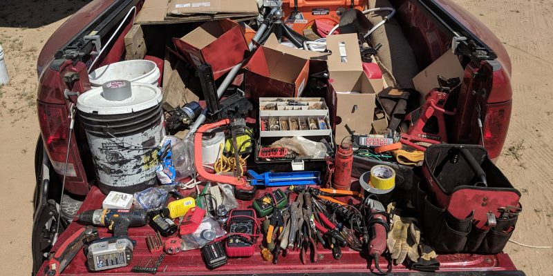 Pile of RV Tools