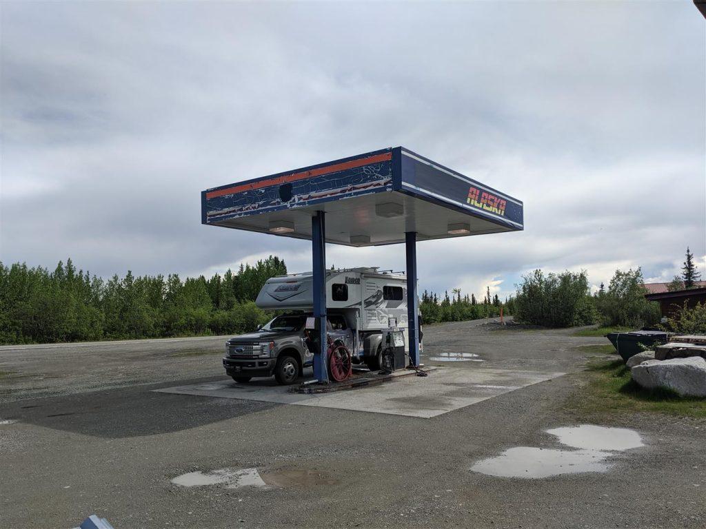 finding fuel in alaska rv trip