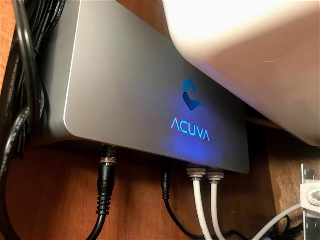 Acuva RV water filter system