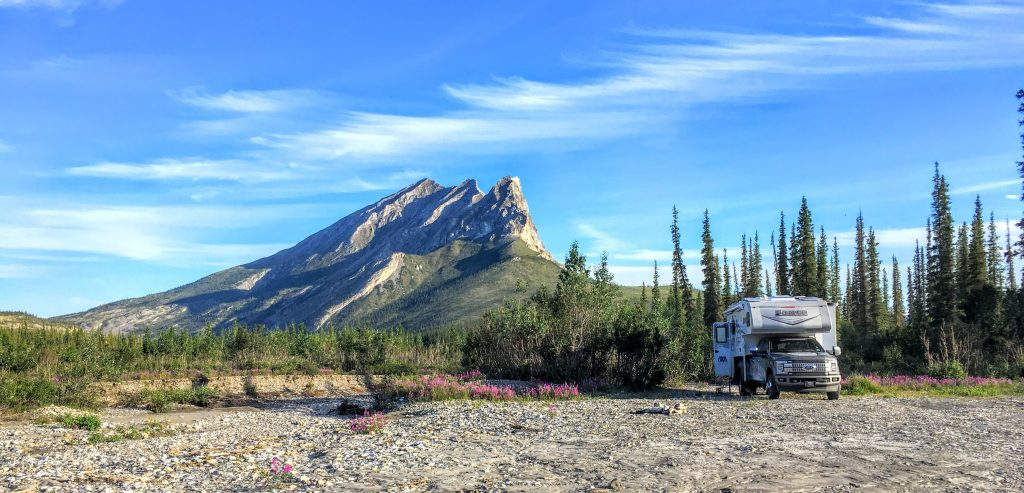 Dalton Highway truck camper go north