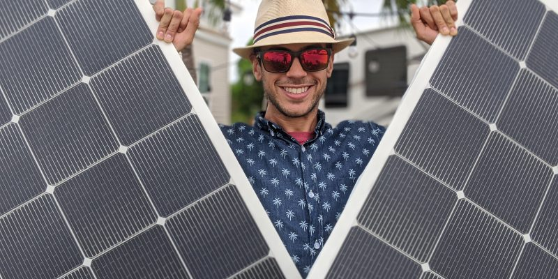 Portable RV Solar Panels