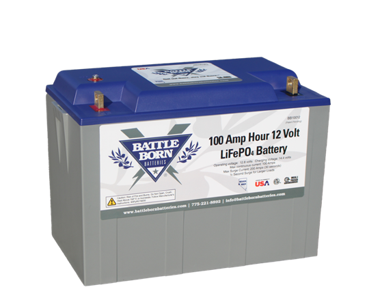 battle born batteries heated lithium battery