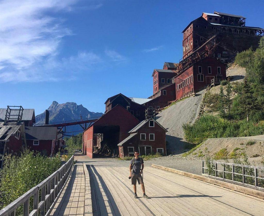 Kennecott Mine in mccarthy alaska