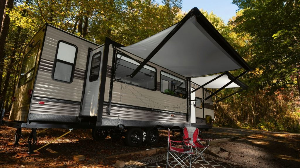electric RV awning