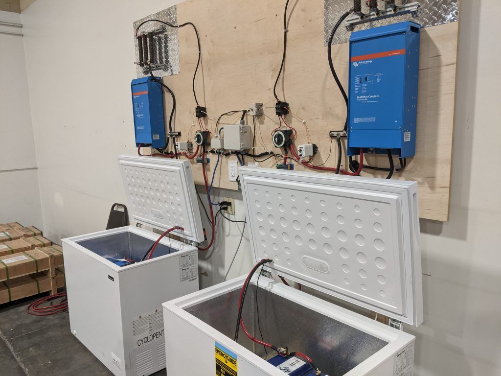 Battery Testing Setup