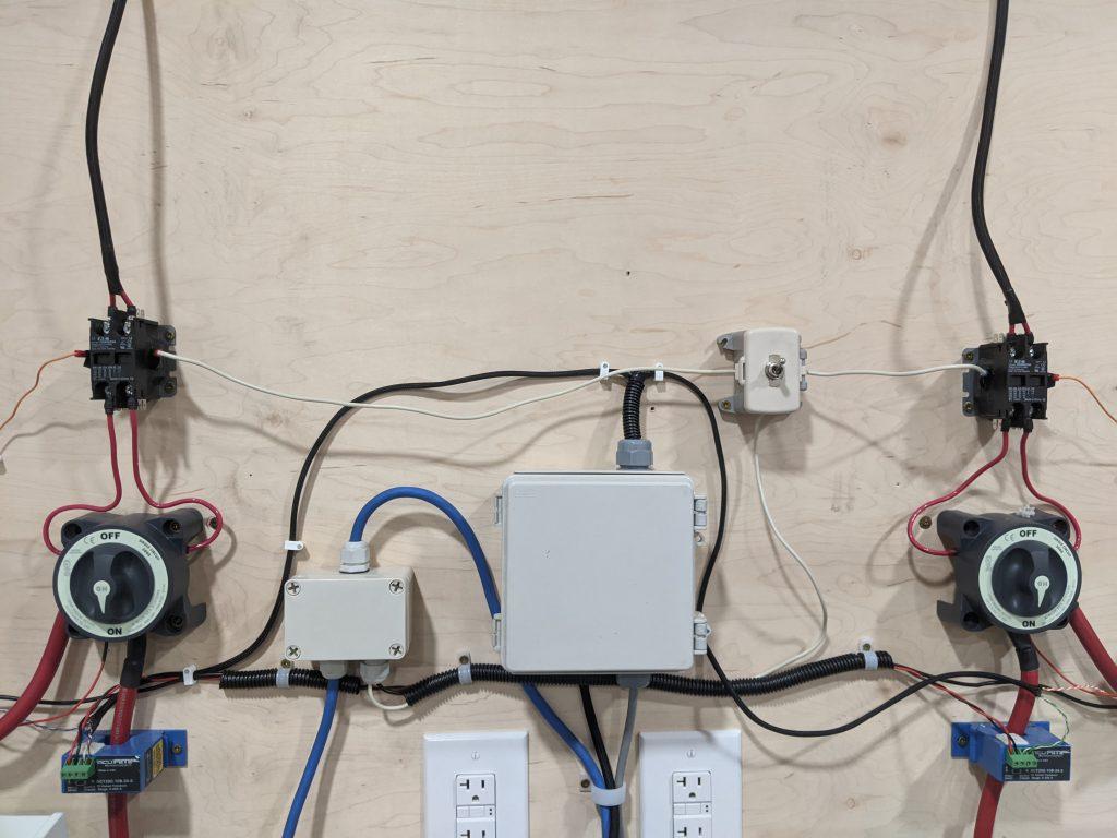 electronics test bench