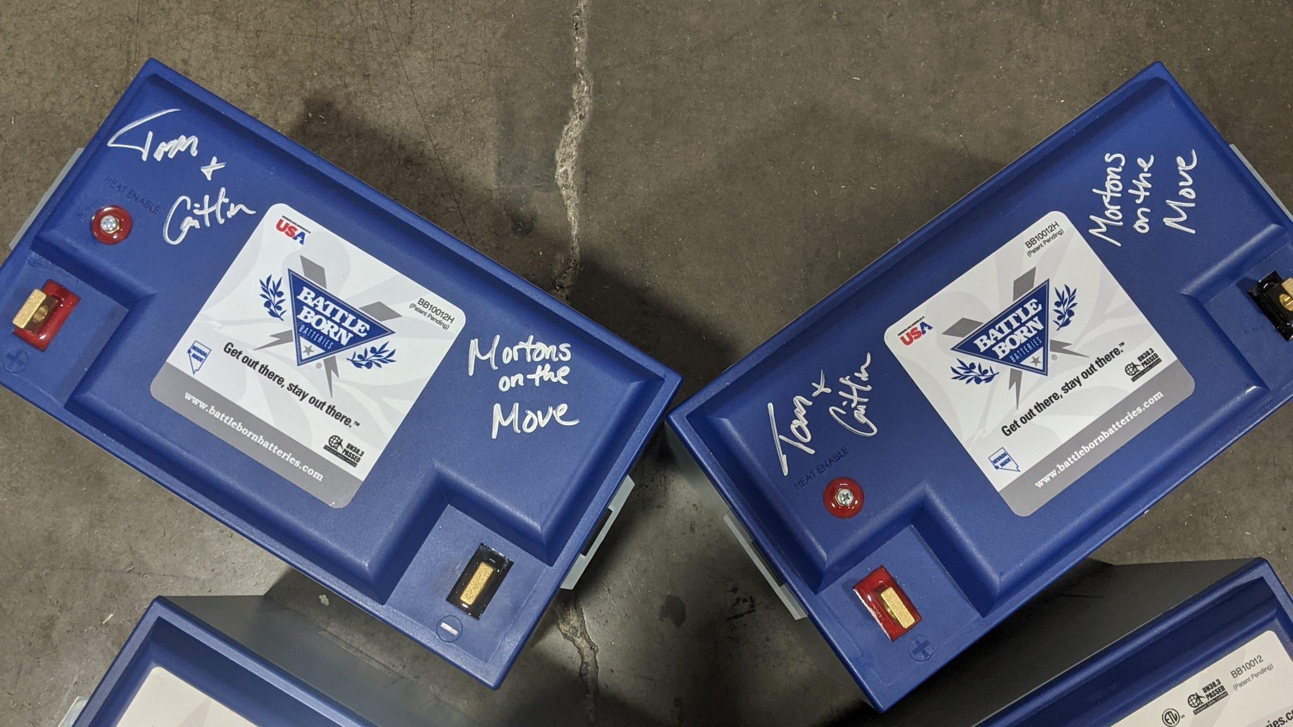 Heated Lithium RV Batteries