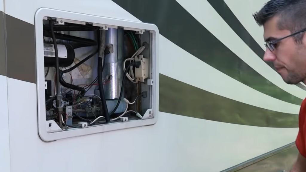 Cleaning RV fridge