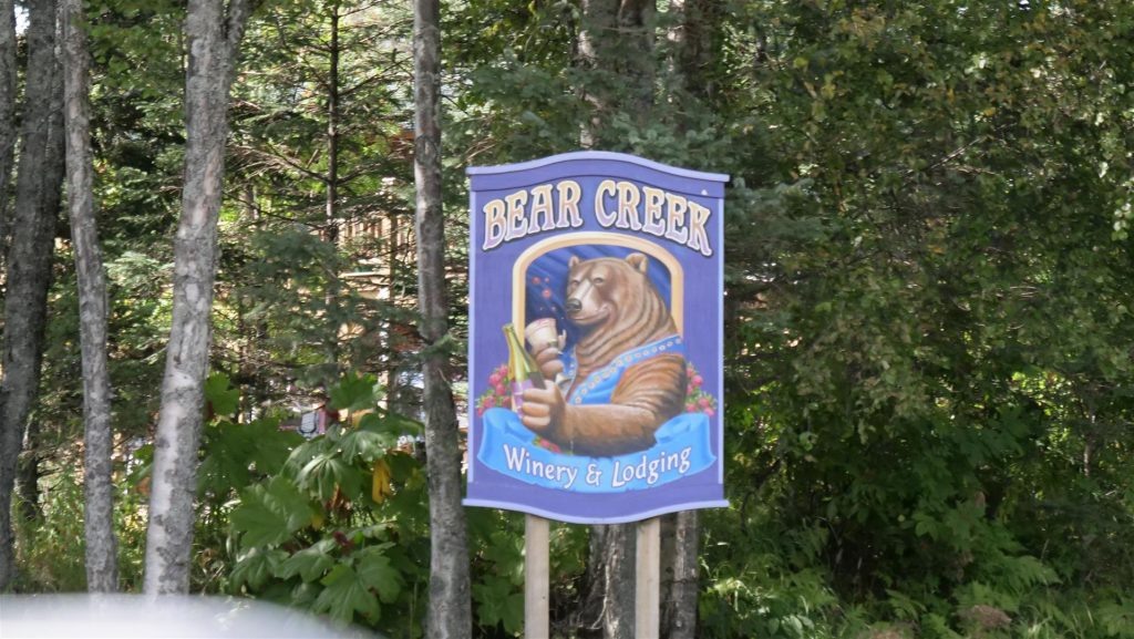 Bear Creek Winery in Homer Alaska