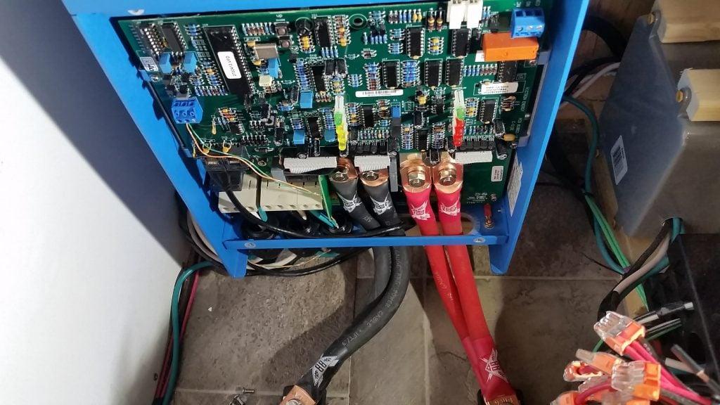 Lithium battery inverter