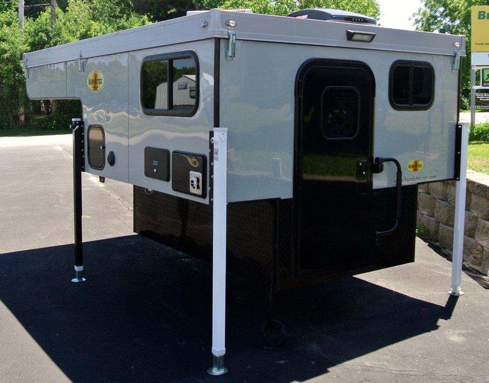 pop-up truck camper off truck