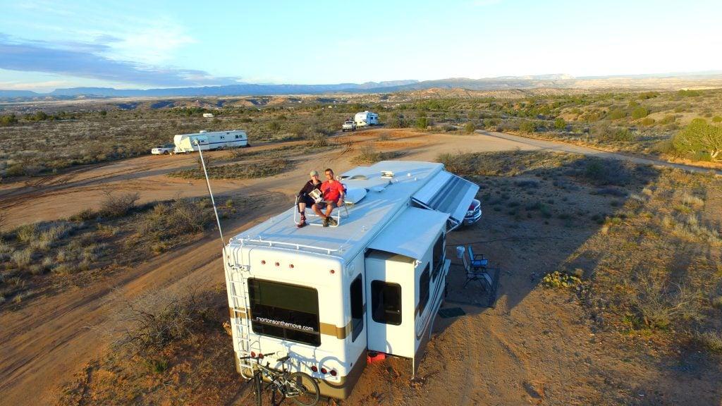 dry camping in arizona