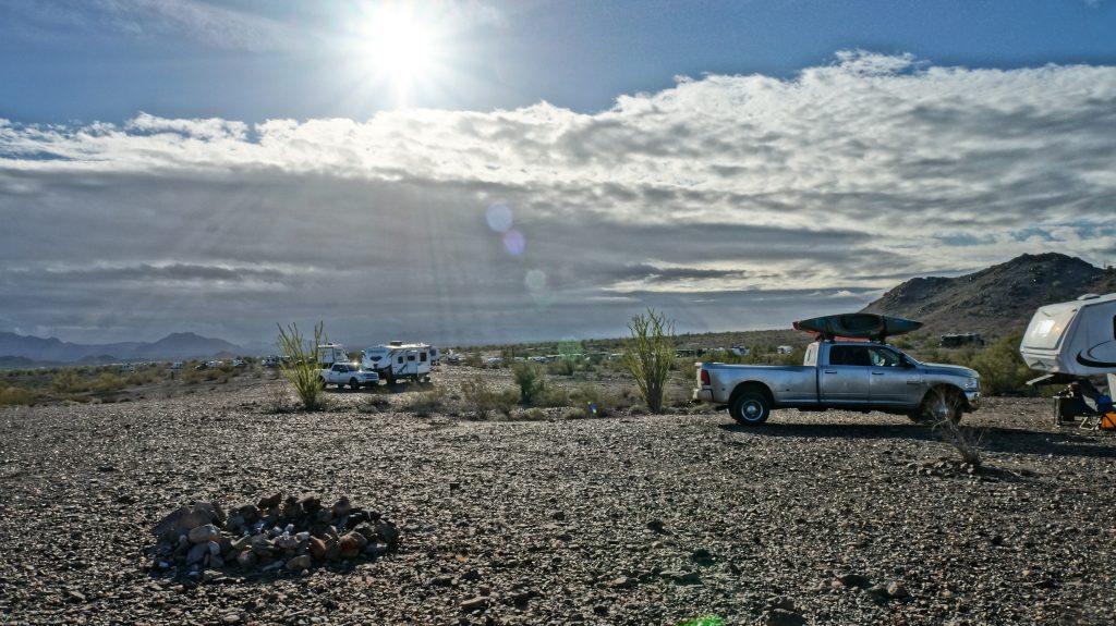boondocking in quartzsite arizona