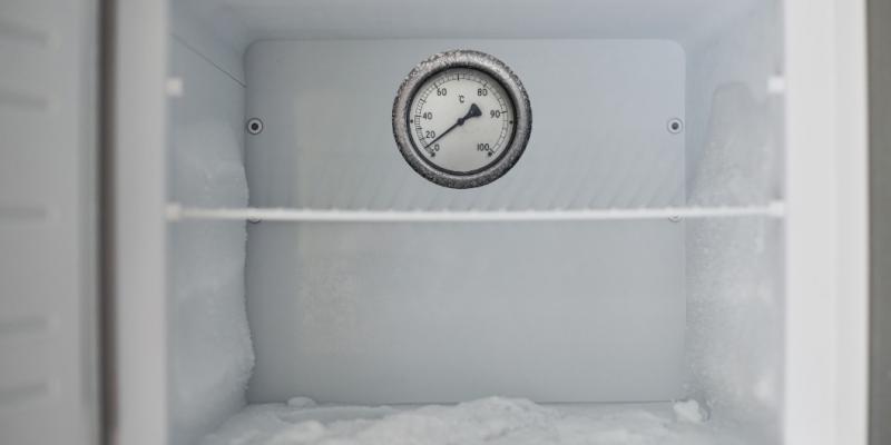 EV fridge not getting cold