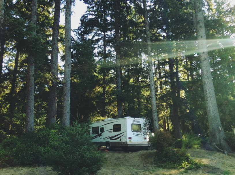 camping without water hookups requires an RV water pump